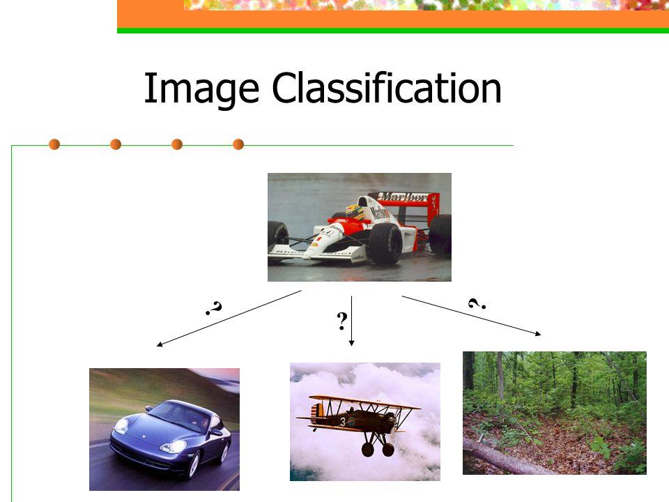 Image Classification ? ? ?