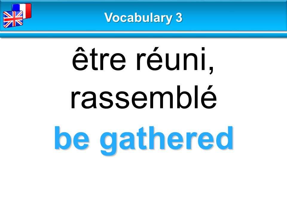 It's no big deal ce n'est pas grave Vocabulary 3