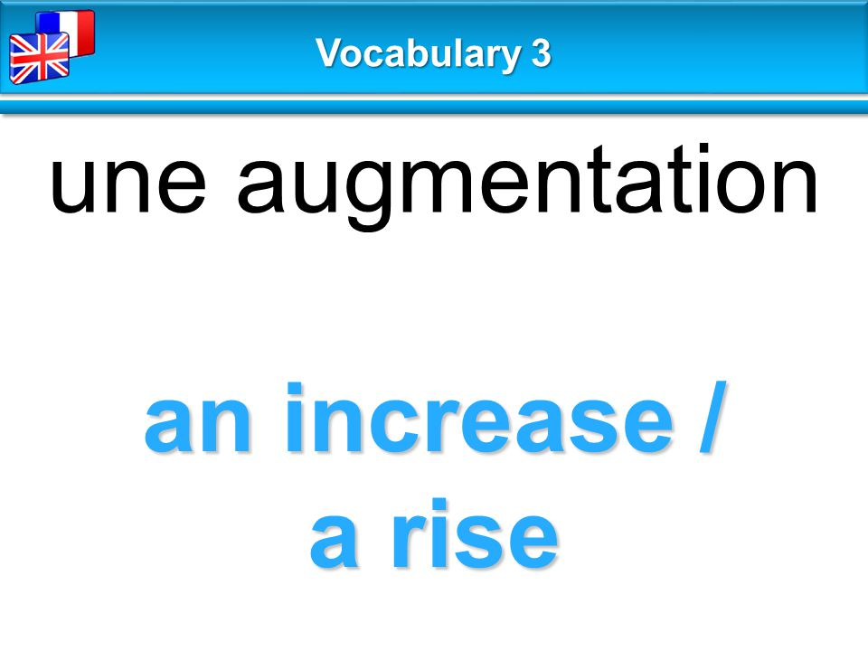 otherwise autrement Vocabulary 3