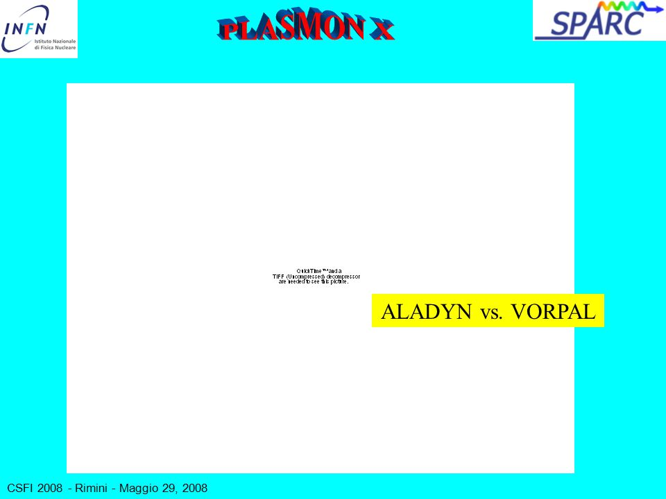 ALADYN vs. VORPAL