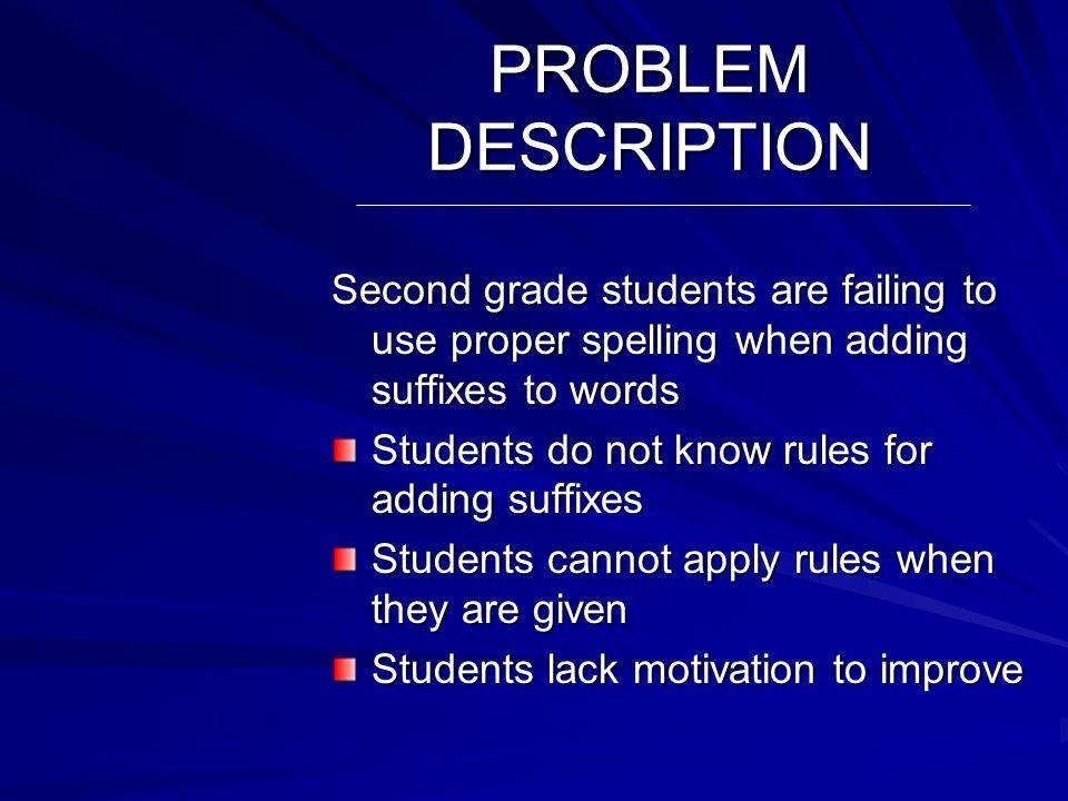 Problem Description Problem Documentation Literature Review Causative Analysis