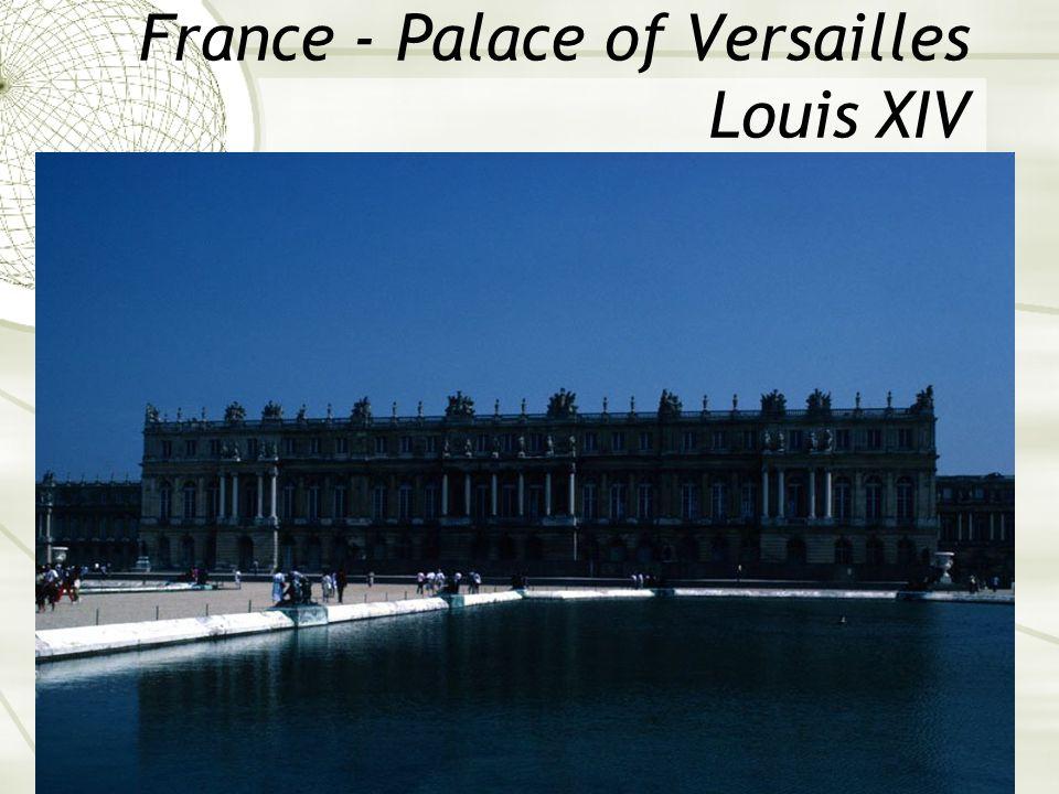 France - Palace of Versailles Louis XIV