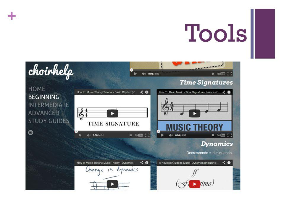+ Tools