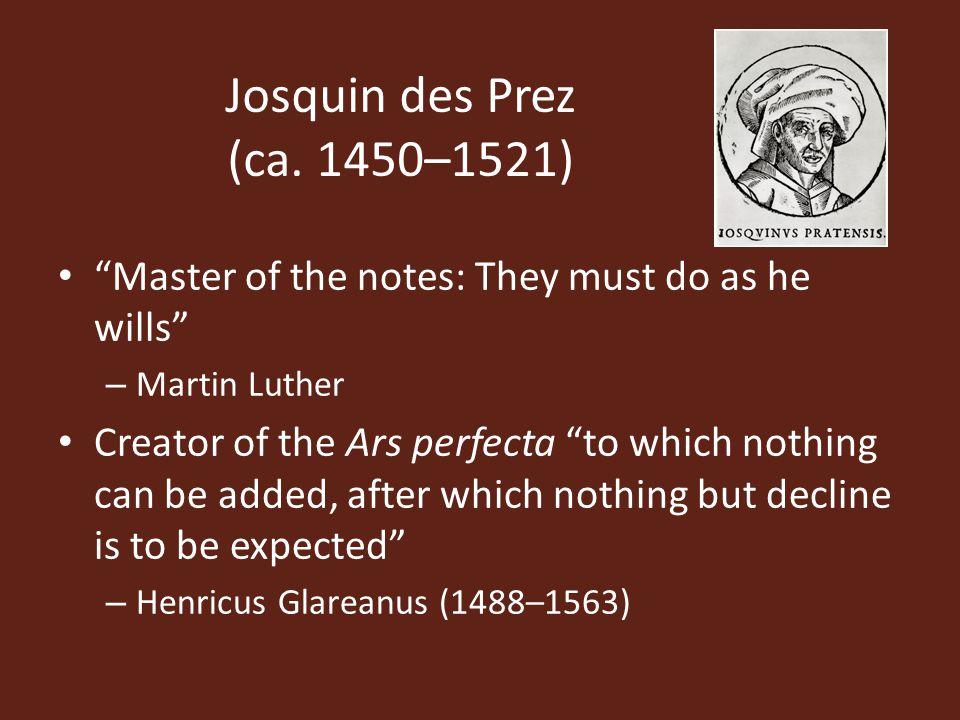 Josquin des Prez (ca.