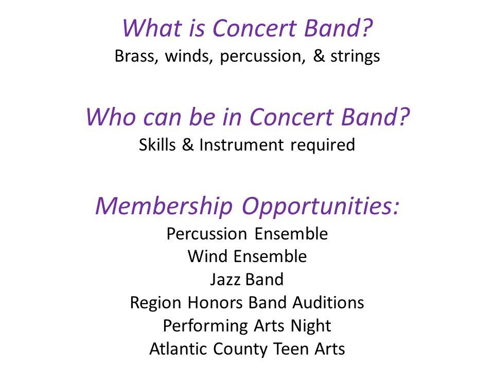 Wm. Davies School Concert BandShow Choir
