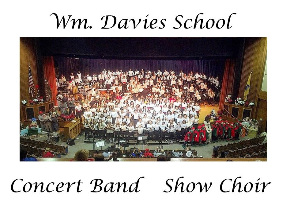 Being a band or choir members means you are…… Part of something very special! Giving the gift of music to your school and community! Sharing your tale