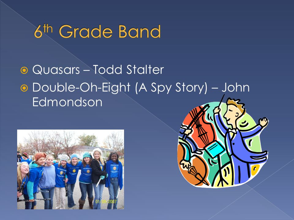  Quasars – Todd Stalter  Double-Oh-Eight (A Spy Story) – John Edmondson
