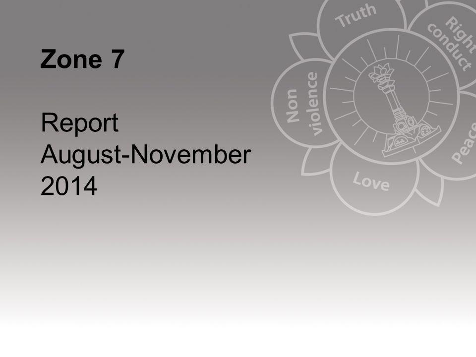 Zone 7 Report August-November 2014