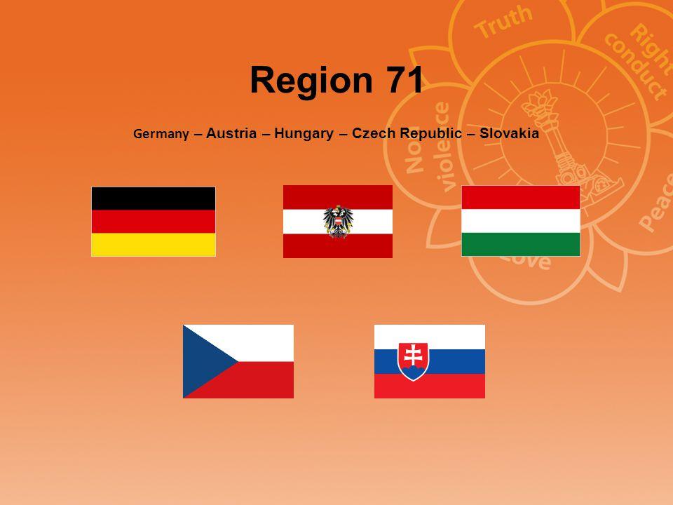 Region 71 Germany – Austria – Hungary – Czech Republic – Slovakia