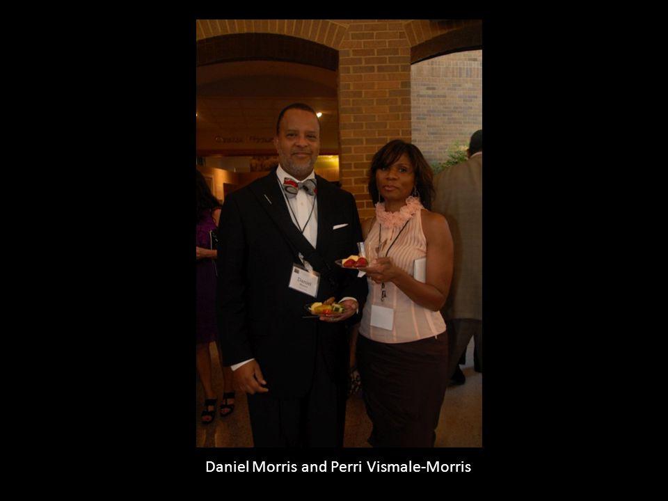 Daniel Morris and Perri Vismale-Morris