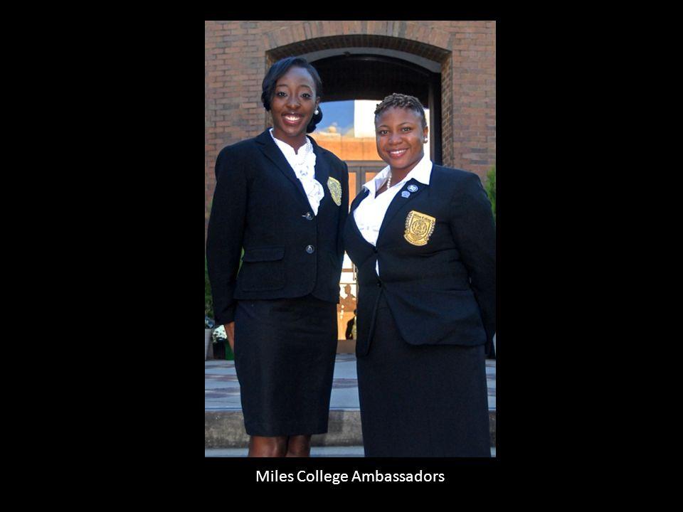 Miles College Ambassadors