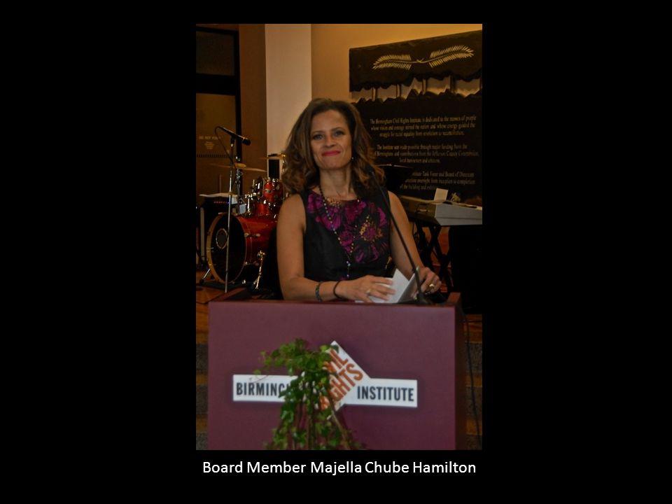 Board Member Majella Chube Hamilton