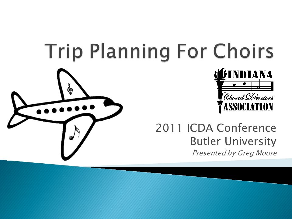 2011 ICDA Conference Butler University Presented by Greg Moore