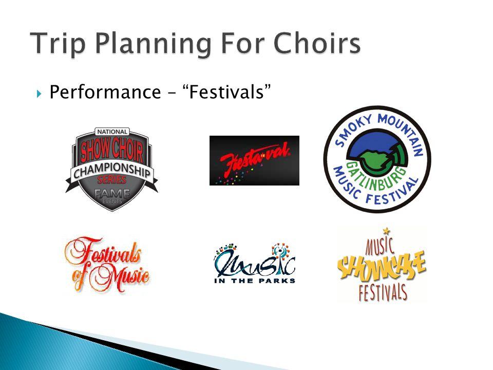 " Performance – ""Festivals"""