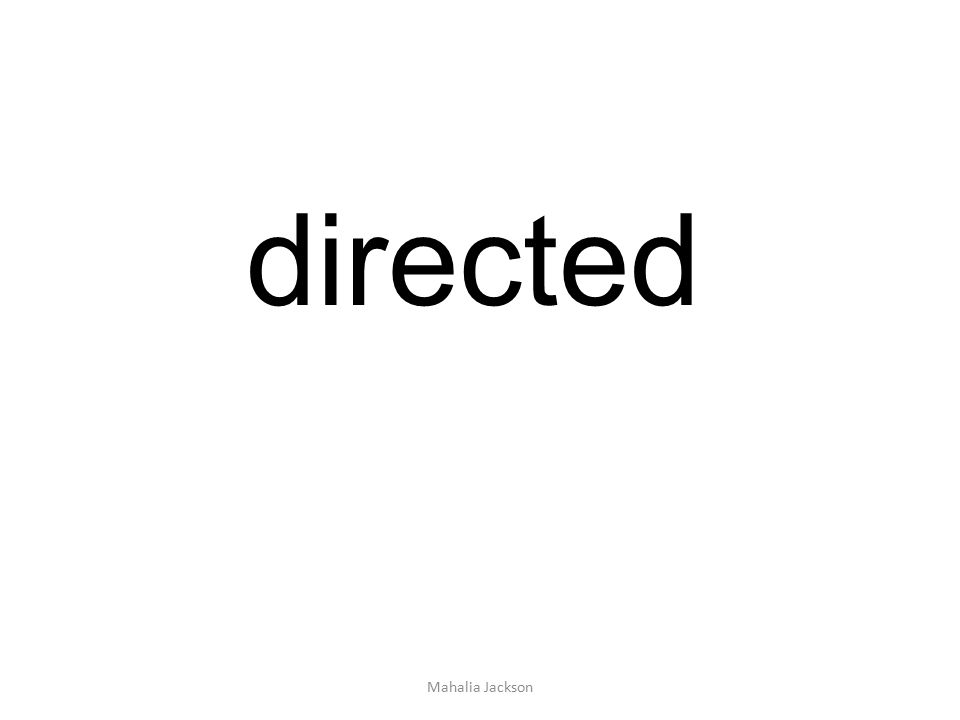 directed