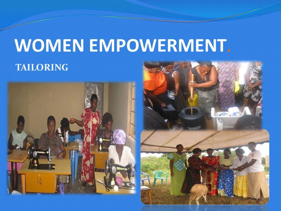 WOMEN EMPOWERMENT. TAILORING
