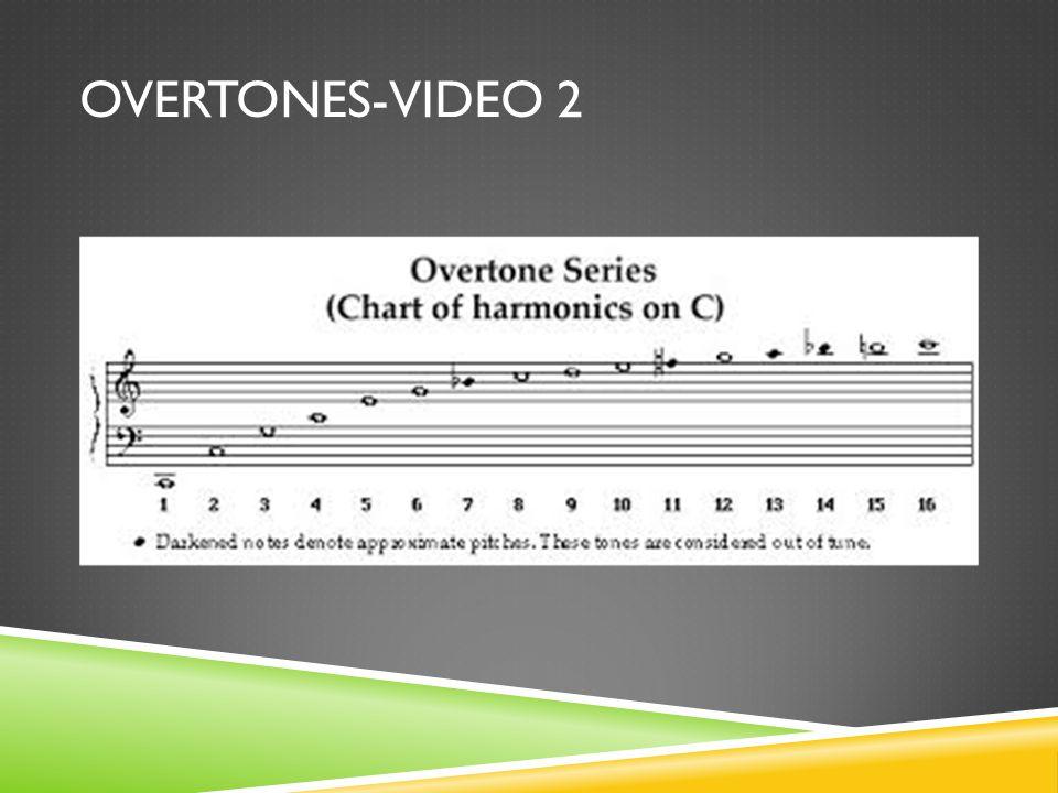 OVERTONES-VIDEO 2