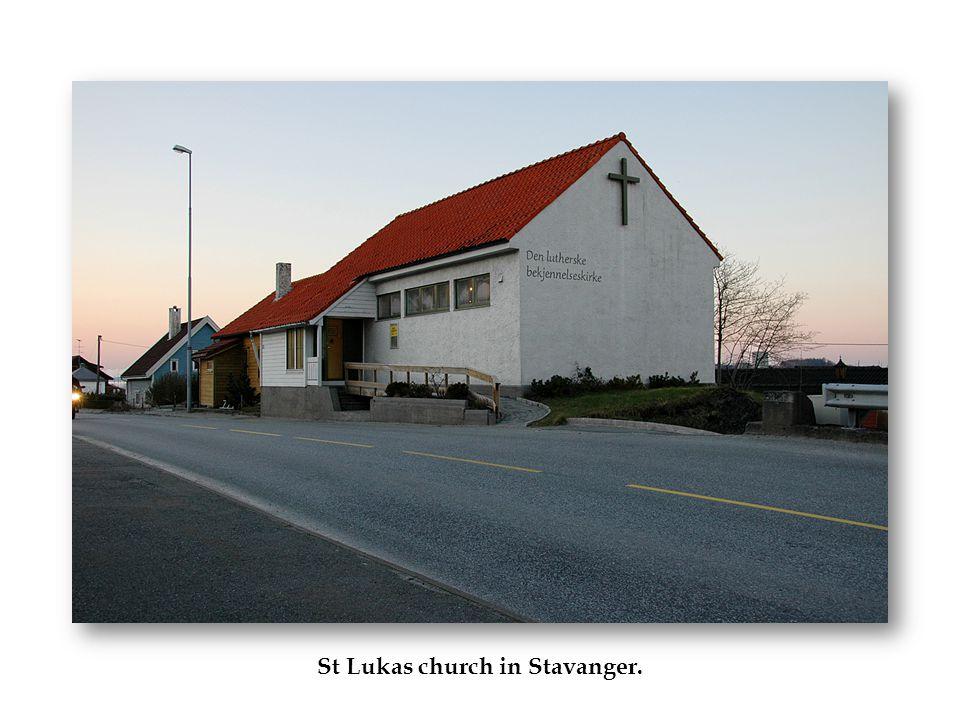 St Lukas church in Stavanger.