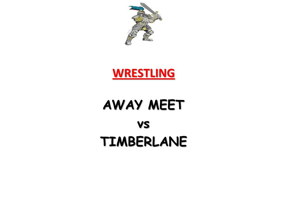 WRESTLING AWAY MEET vsTIMBERLANE