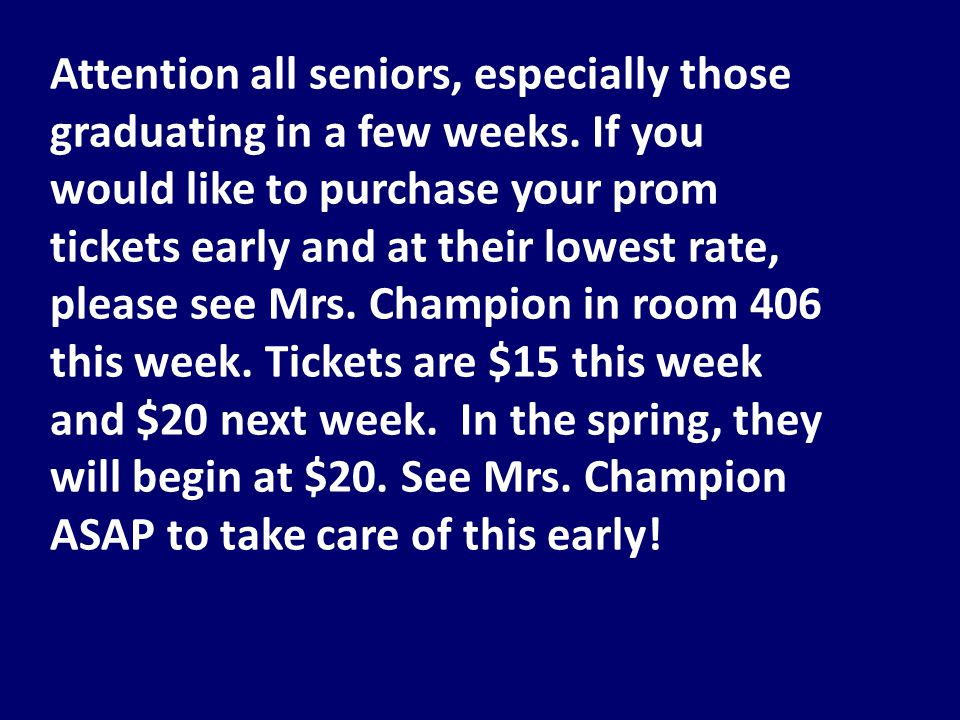 Attention all Foley Theatre Company Members: Ms.