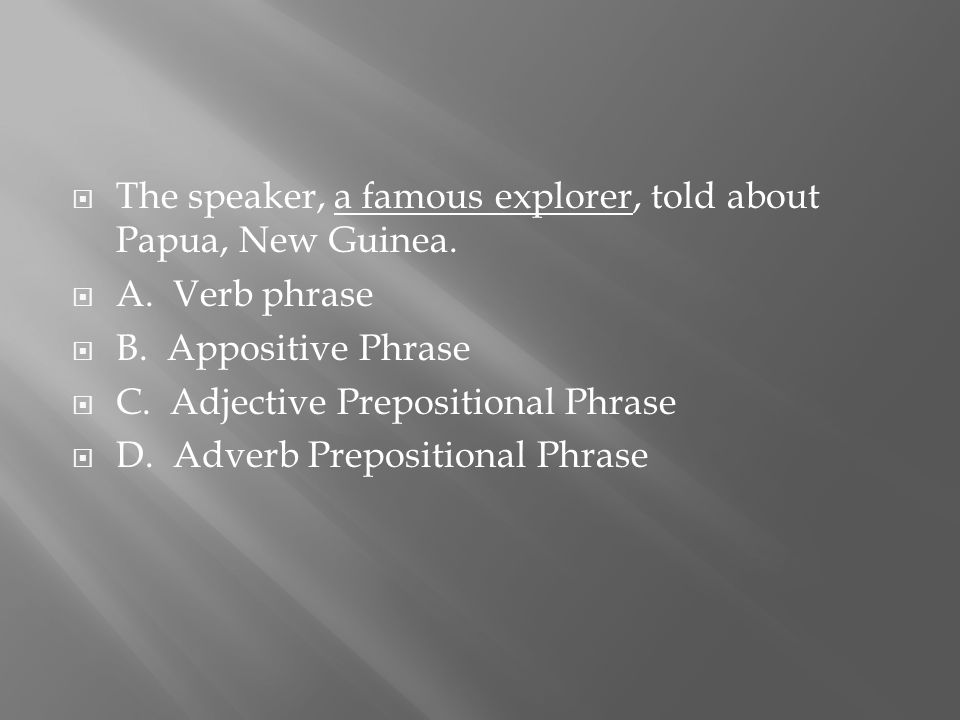  The speaker, a famous explorer, told about Papua, New Guinea.