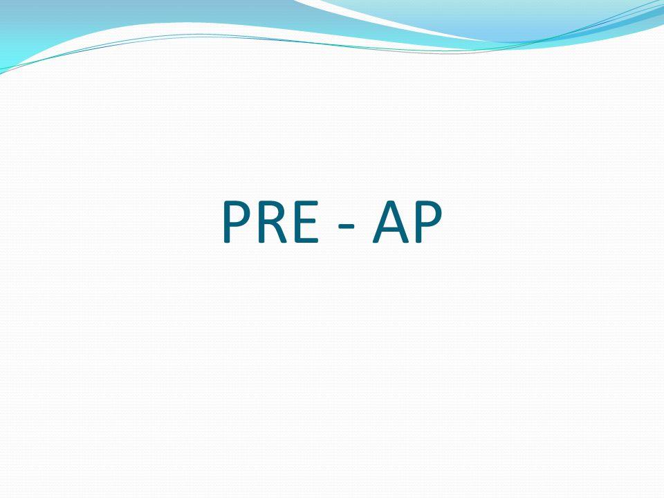 PRE - AP