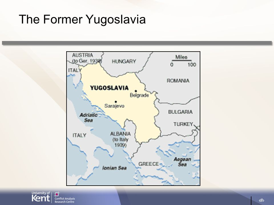 3 The Former Yugoslavia