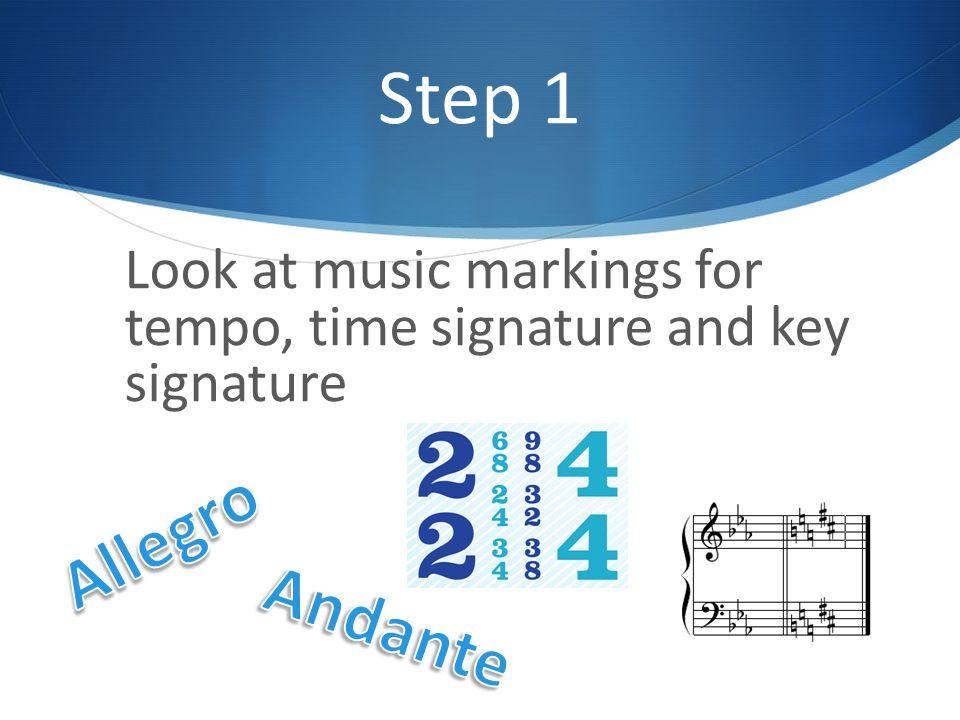 Step 2 Lightly clap the rhythm