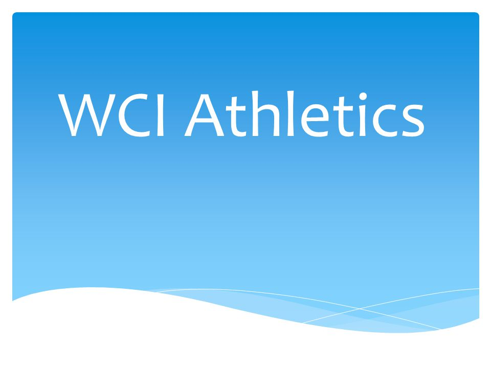 WCI Athletics