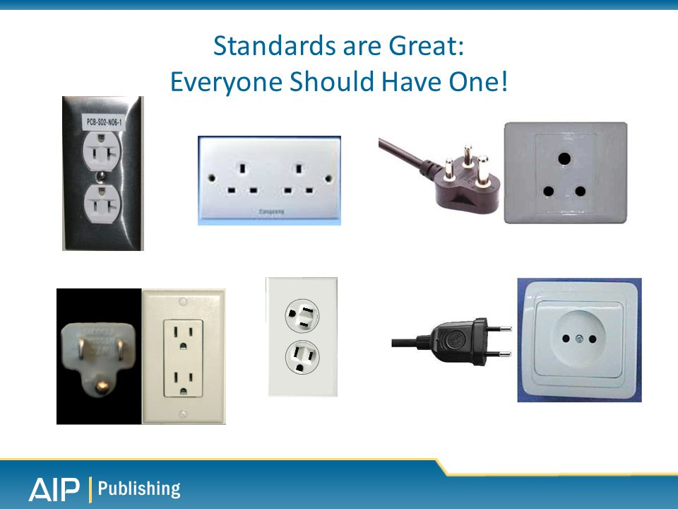 Standards are Great: Everyone Should Have One!