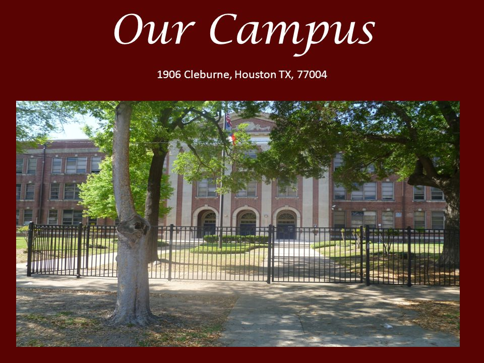 Our Campus 1906 Cleburne, Houston TX, 77004