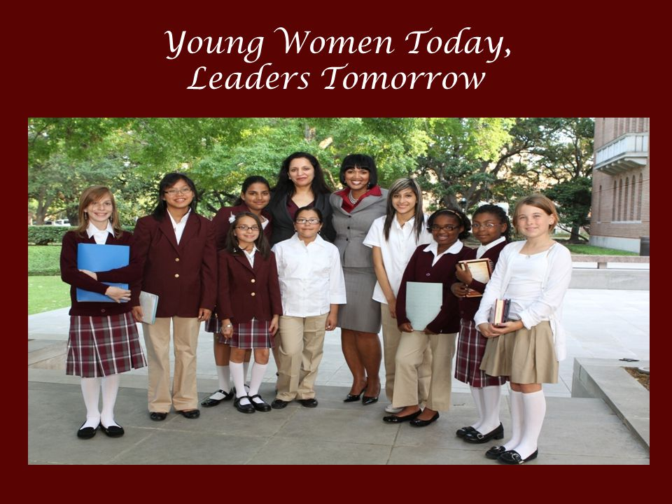 Young Women Today, Leaders Tomorrow
