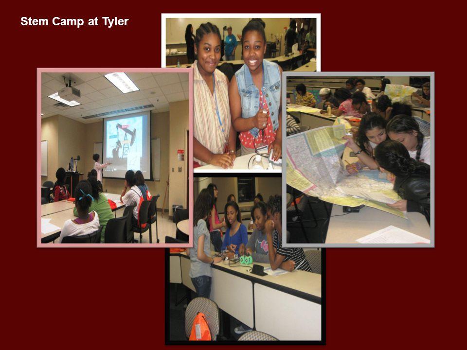 Stem Camp at Tyler