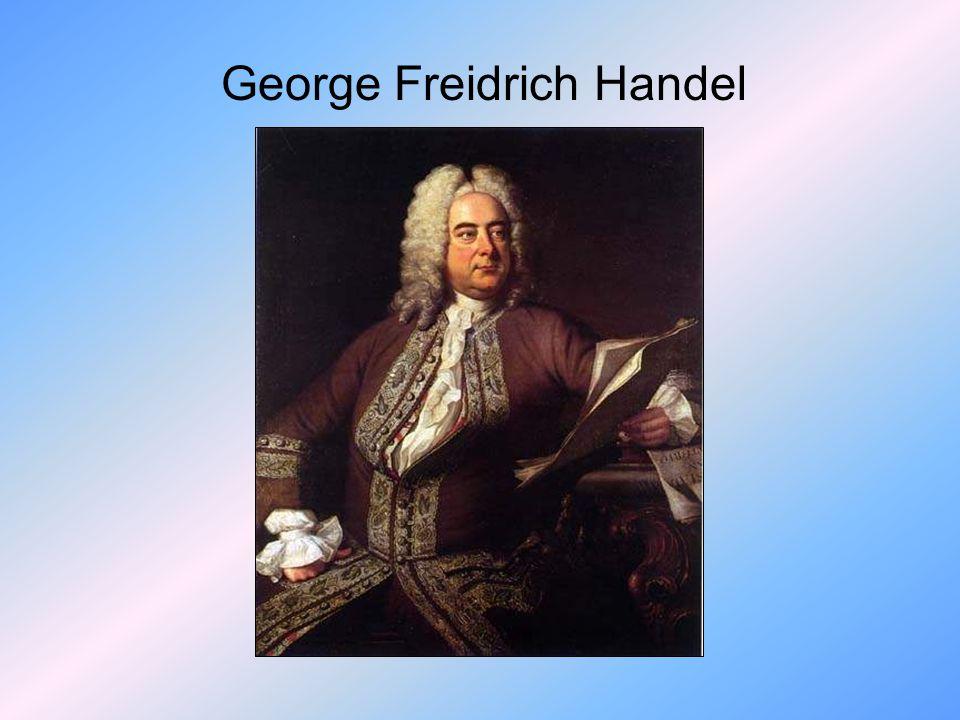 George Freidrich Handel