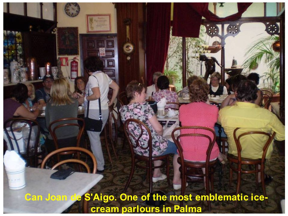 Can Joan de S Aigo. One of the most emblematic ice- cream parlours in Palma