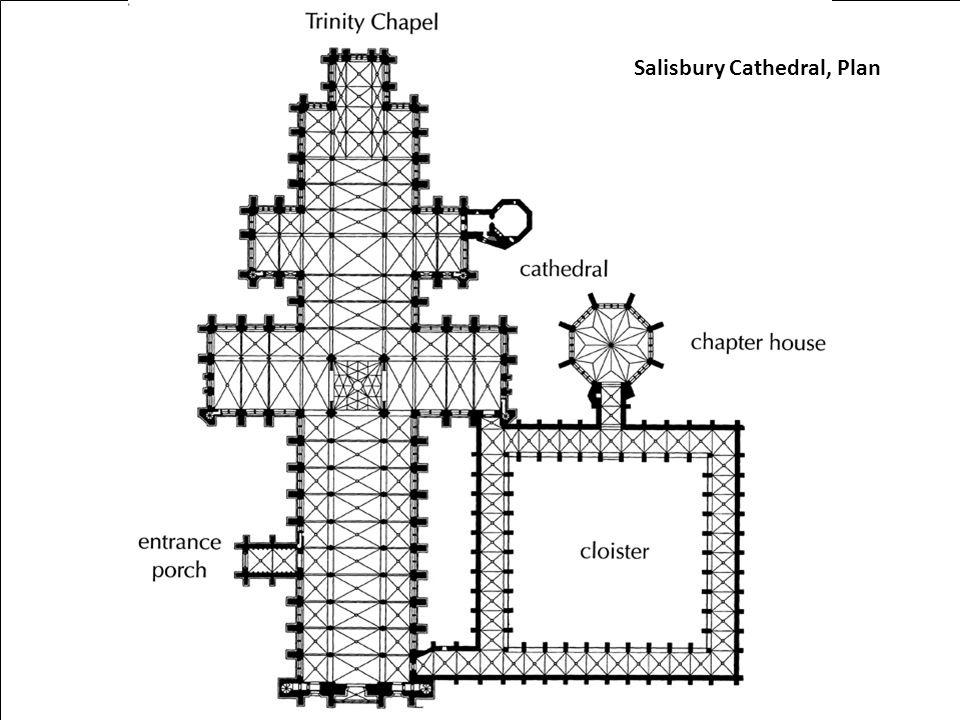Salisbury Cathedral, Plan