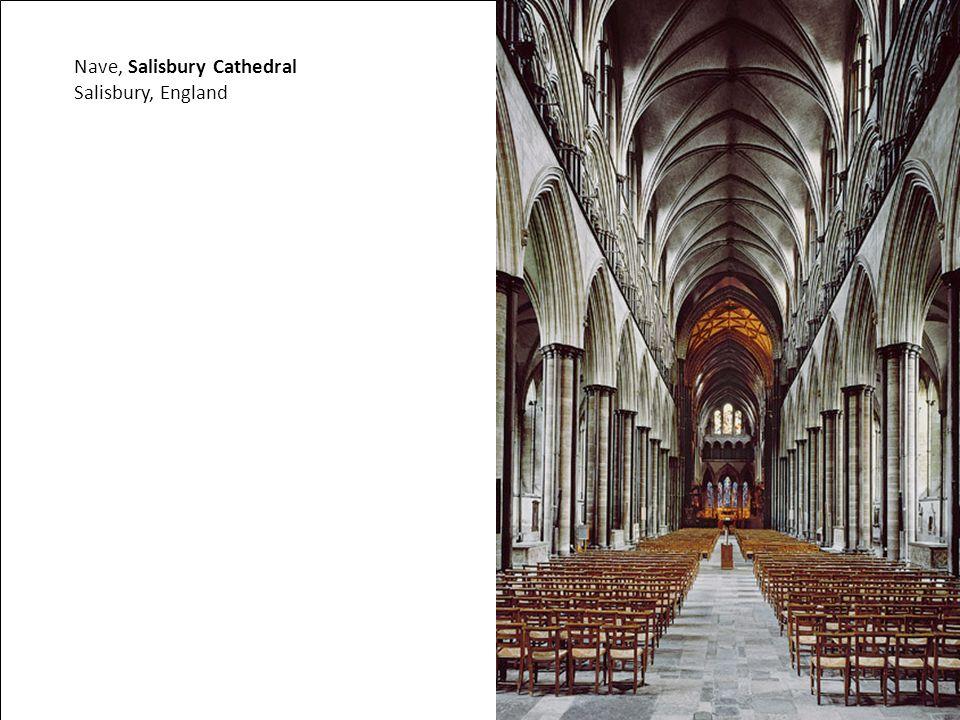 Nave, Salisbury Cathedral Salisbury, England
