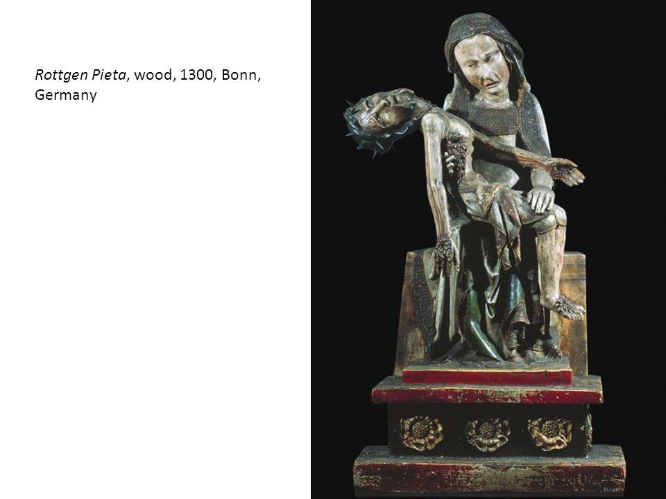 Rottgen Pieta, wood, 1300, Bonn, Germany