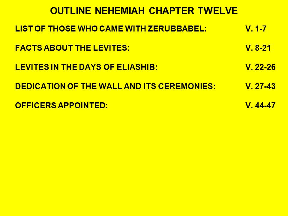 QUESTIONS:NEHEMIAH 12:40-43 40So the two thanksgiving choirs stood in the house of God, likewise I and the half of the rulers with me; 41And the priests, Eliakim, Maaseiah, Minjamin, Michaiah, Elioenai, Zechariah, and Hananiah, with trumpets; 42Also Maaseiah, Shemaiah, Eleazar, Uzzi, Jehohanan, Malchijah, Elam, and Ezer.