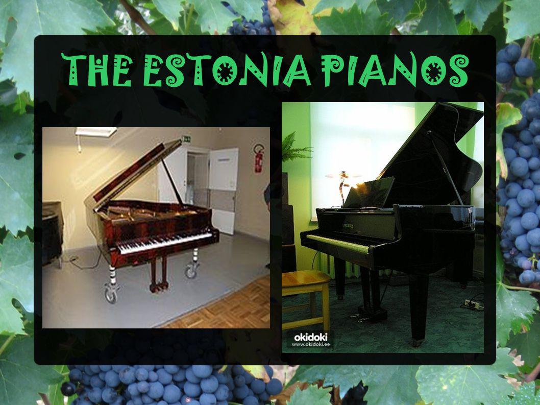THE ESTONIA PIANOS