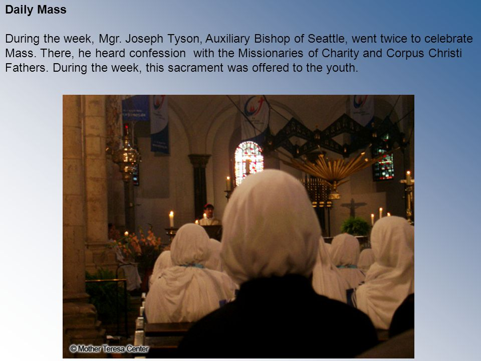 Adoration of the Blessed Sacrament 24 hours a day Adoration has a content and it involves giving.
