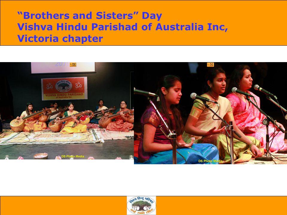 Brothers and Sisters Day Vishva Hindu Parishad of Australia Inc, Victoria chapter