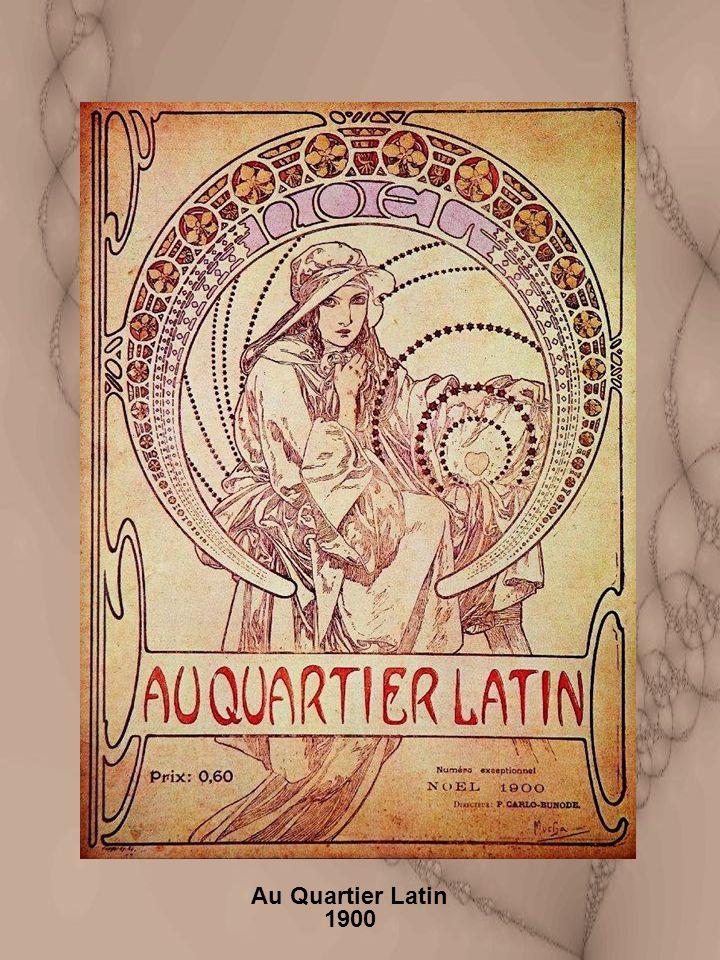 Au Quartier Latin 1900