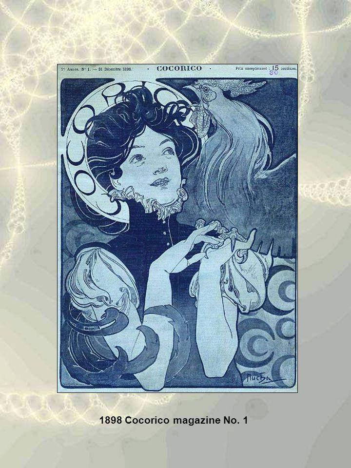 1898 Cocorico magazine No. 1