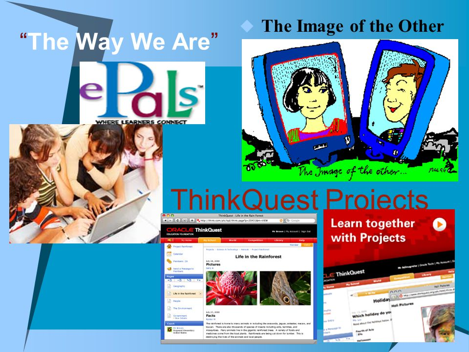" The Image of the Other ""The Way We Are"" ThinkQuest Projects"