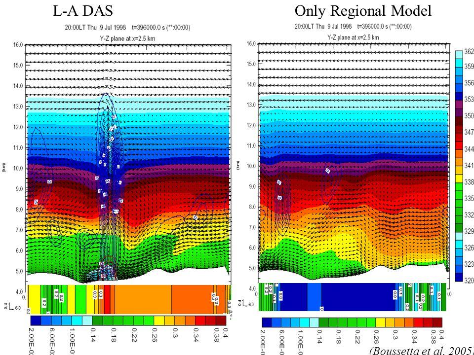 L-A DASOnly Regional Model (Boussetta et al, 2005)