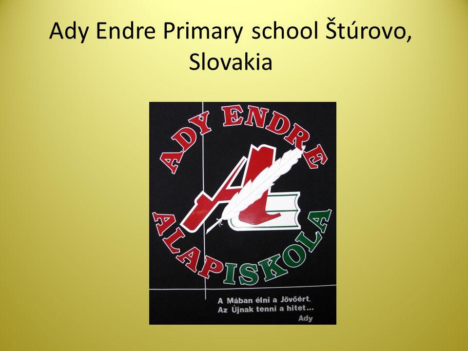 Ady Endre Primary school Štúrovo, Slovakia