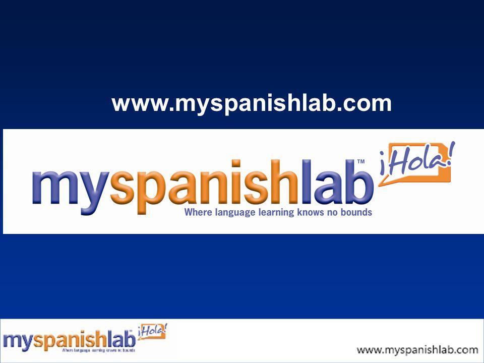 www.myspanishlab.com