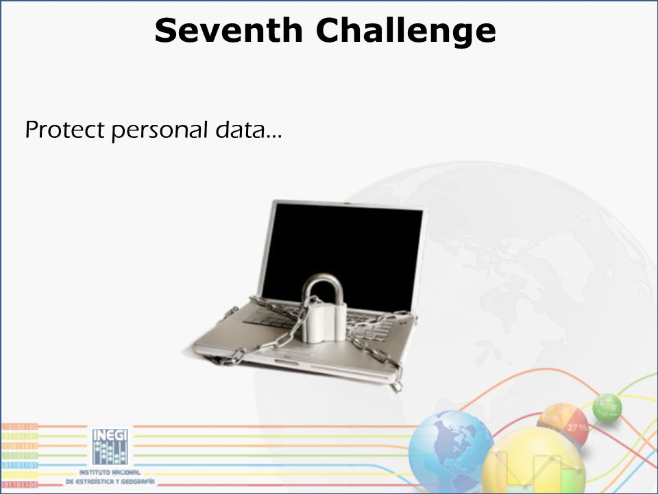 Seventh Challenge Protect personal data…