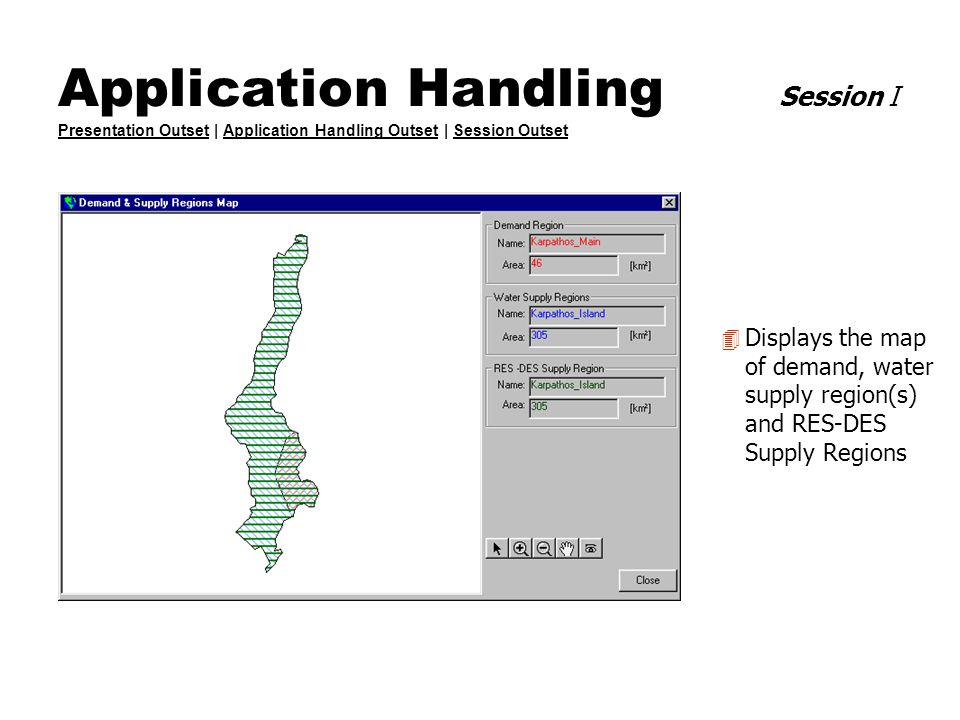 Application Handling Session I Presentation Outset | Application Handling Outset | Session Outset Presentation OutsetApplication Handling OutsetSessio